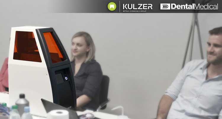 А caraPrint 4.0 3D nyomtató bemutatása a Kulzer céggel együttműködve