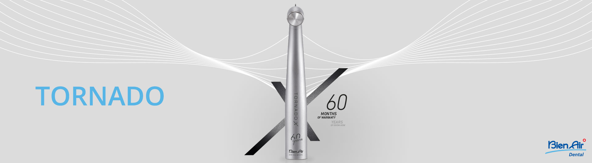 TORNADO X új turbina a Bien Air Dental-tól