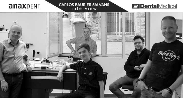 Ismerje meg az Anaxdentet - Interjú Carlos Baurier Salvansa előadóval